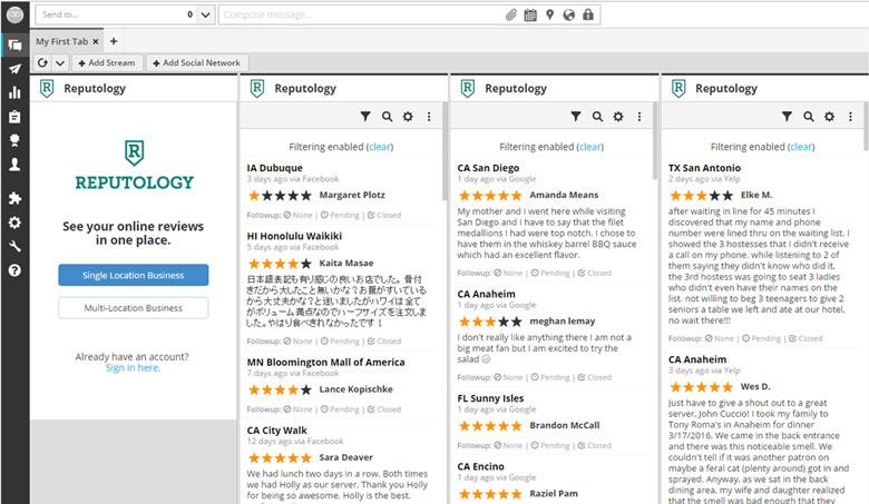 strumenti di monitoraggio reputazione online Reputology
