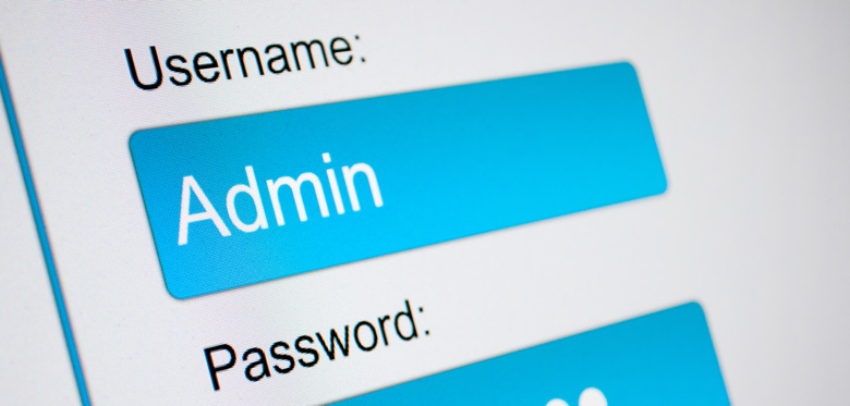 sicurezza del login di wordpress e username