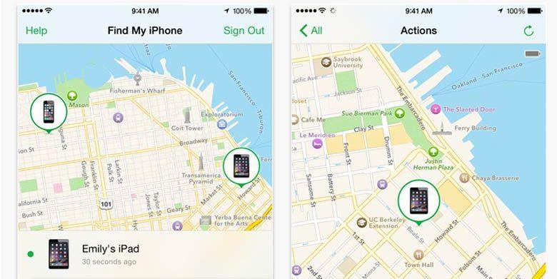 find my iPhone una applicazione di sicurezza per iPhone