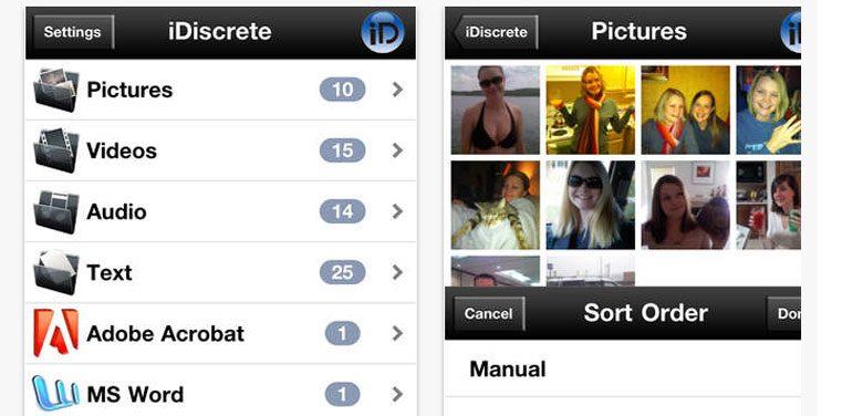 privacy e applicazioni di sicurezza per iPhone