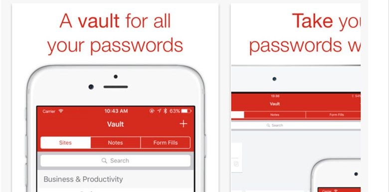 gestire le password con applicazioni di sicurezza per iPhone