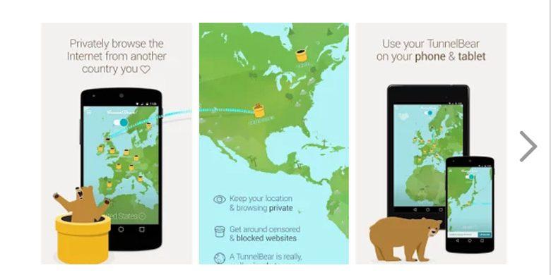 navigare in sicurezza con le applicazioni di sicurezza per Android