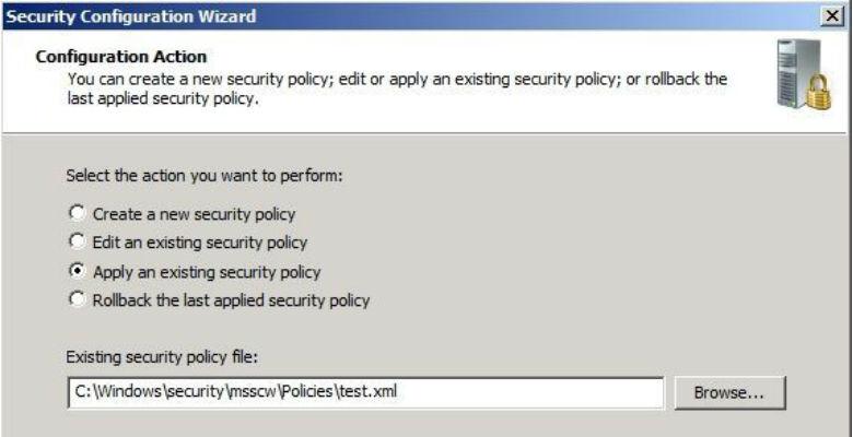 mettere in sicurezza un server windows applicando la nuova policy