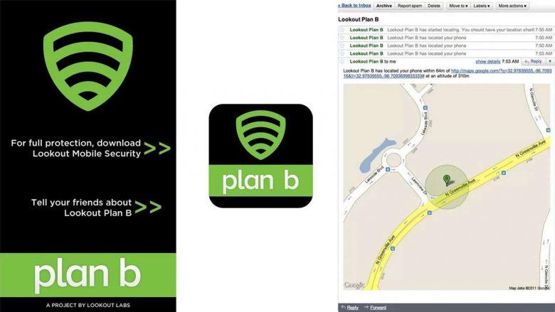 L'ultima speranza per gli utenti Android è l'app per ritrovare uno smartphone di Lookout, Plan b