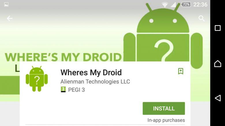 Alienman Technologies presenta Wheres My Droid, app una per ritrovare uno smartphone Android