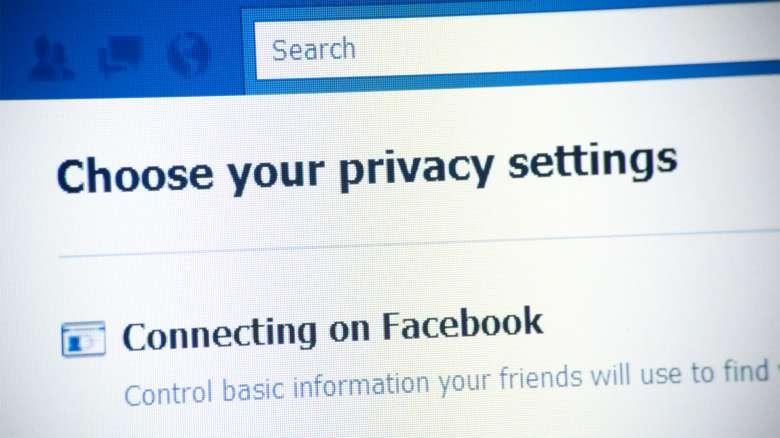 Modificare le impostazioni sulla privacy di Facebook vi aiuterà a navigare in anonimato