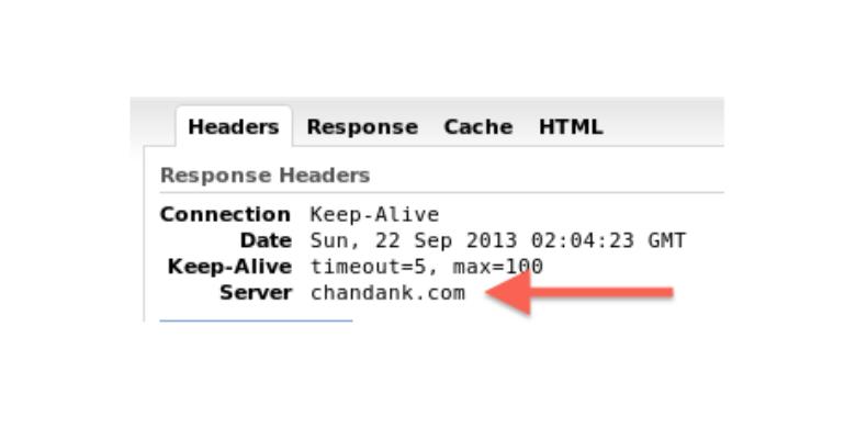sicurezza web server apache e nome server