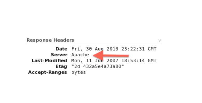 sicurezza web server apache e informazioni server