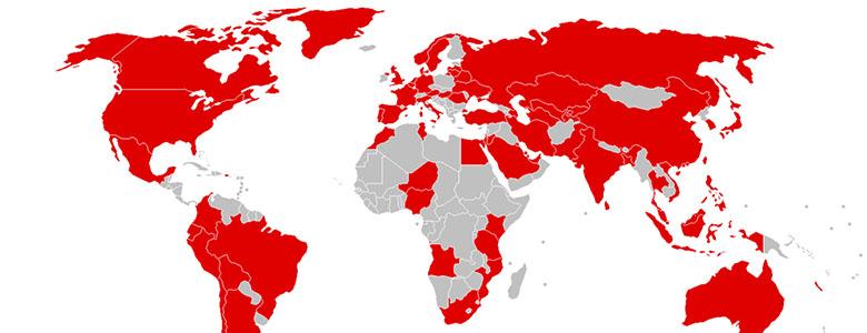 La diffusione del virus Wannacry