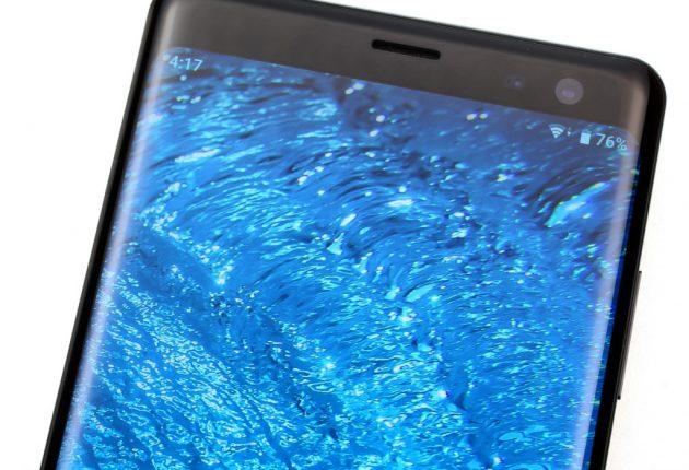 Niente Notch per il Sony Xperia XZ3. Un normale rettangolo, molto luminoso