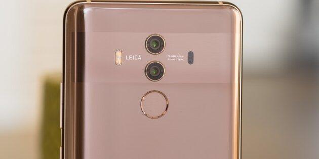 Huawei Mate 10 pro sceglie di tenere i sensori della Leica separati l'uno dall'altro, anche a livello di design