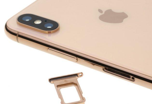 iPhone XS Max è ancora Single SIM (ne esiste una versione Dual SIM per il mercato cinese)