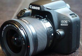 Canon EOS 4000D recensione. Una reflex troppo al risparmio