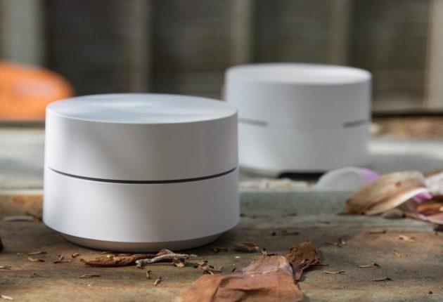 Google WiFi viene venduto con tre dispositivi, di più rispetto ad una media di due con un prezzo contenuto