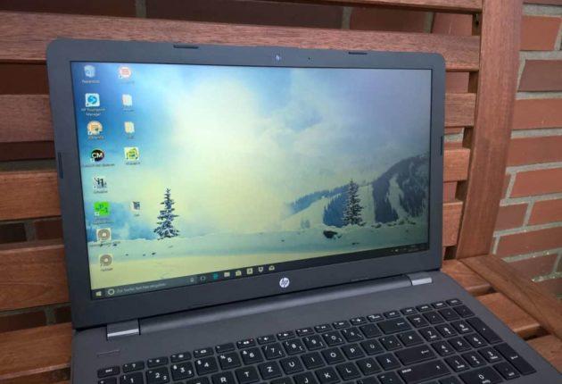 Una buona forma per il HP 255 G6 che può essere considerato un buon muletto. Non si scalda mai