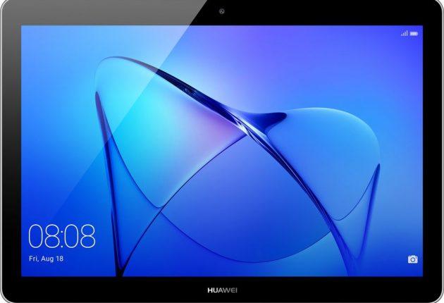Huawei Mediapad T3 ha una buona solidità generale, più piccolo della concorrenza e molto maneggevole