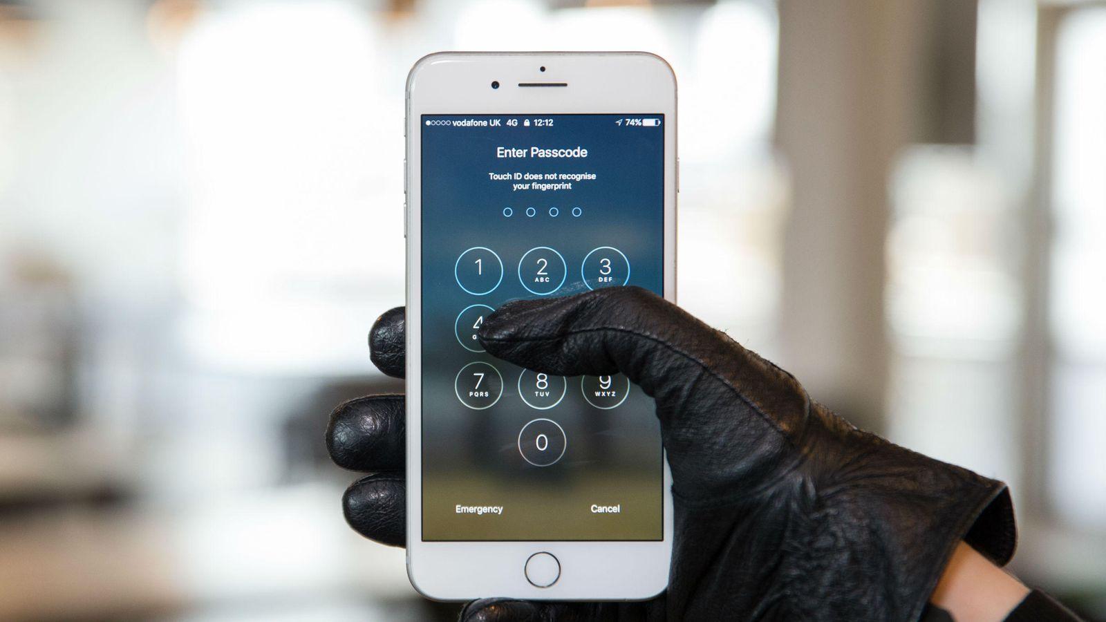 Bloccare il telefono da remoto