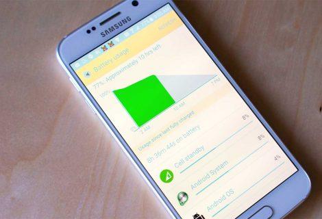 Come far durare di più la batteria Samsung Galaxy S6