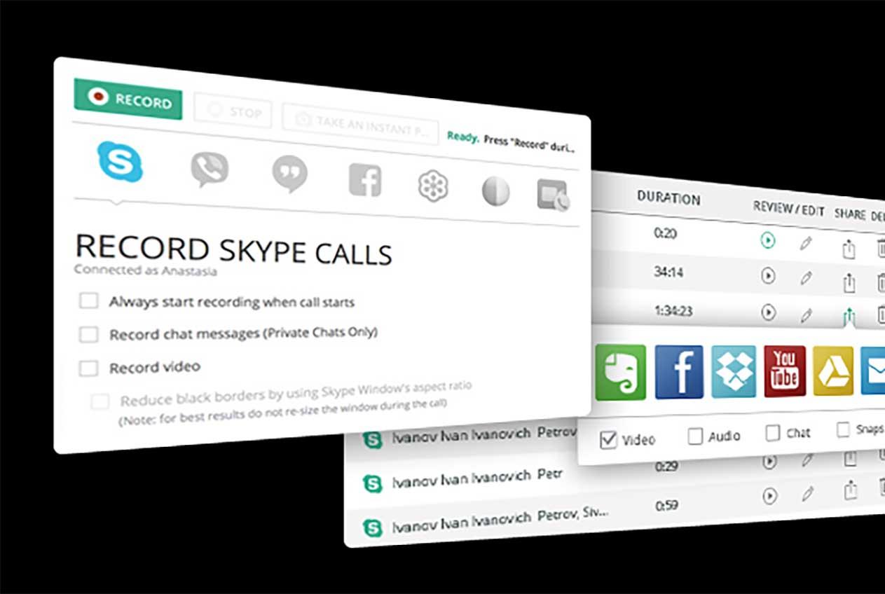 Registrare chiamate Skype