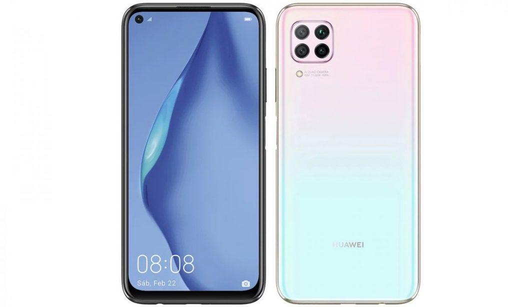 Huawei P40 Lite design