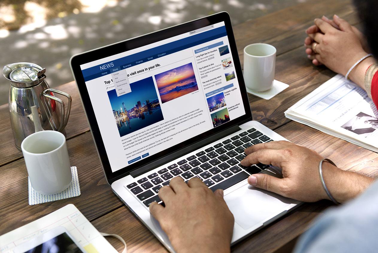 Rimuovere articoli da internet