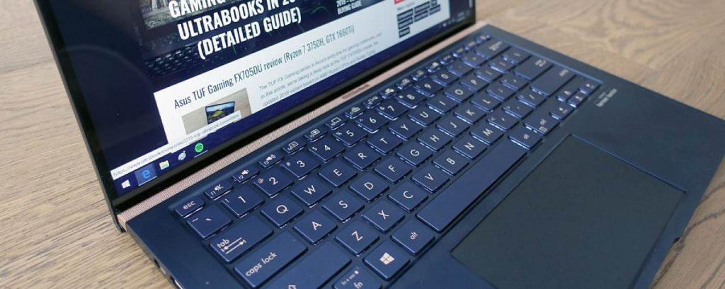 Asus Zenbook 14 UX434FL tastiera