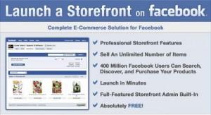 StoreFront permette di aprire un e-commerce completo su Facebook