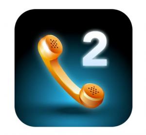 Il logo di Line2, applicazione VoIP per Smartphone